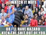 Mourinho Threatning Ball Boy