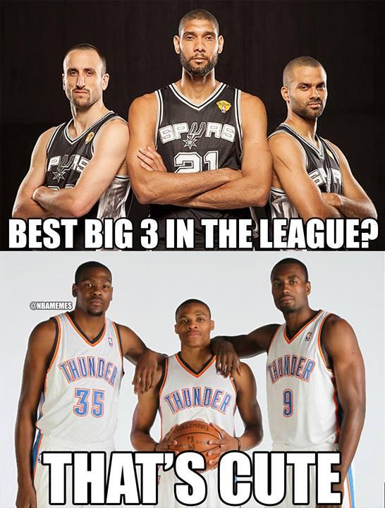Best big three