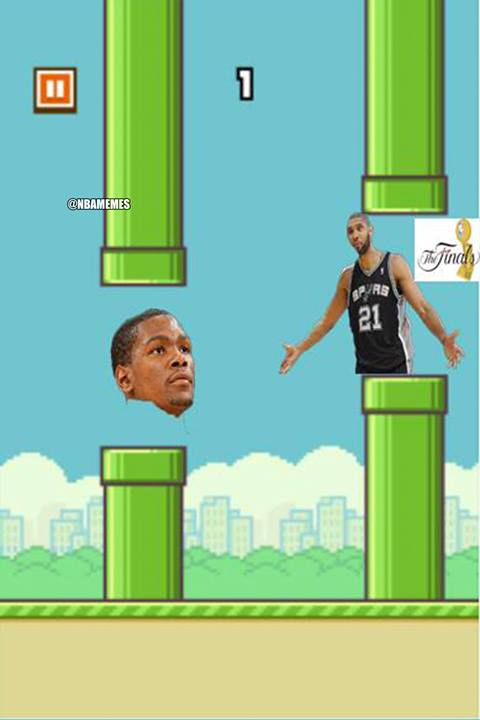 Tim Duncan in the way
