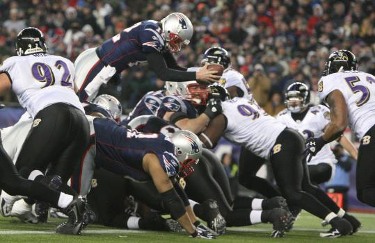 Tom Brady (vs Ravens)